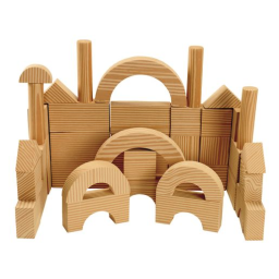 Environments® earlySTEM™ Toddler Soft & Smooth Unit Blocks Set of 40