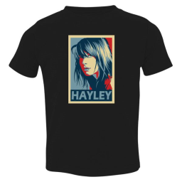 Paramore Hayley Williams Toddler T-Shirt Black / 3T