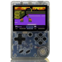 Retro Portable Mini Handheld Game Console - Assorted Colors / Transparent Clear