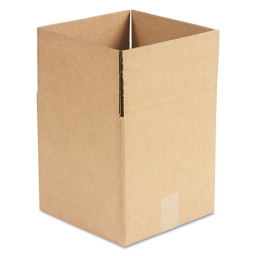 """General Supply 10"""" x 10"""" x 10"""" Corrugated Shipping Boxes  Brown  Pack of 25"""