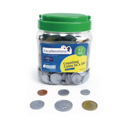 Excellerations® Counting Coins - 500 Pieces