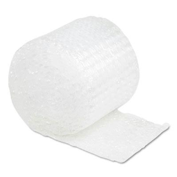 """Sealed Air 1/2"""" Thick 12"""" x 30 ft. Bubble Wrap Cushioning Material Roll"""