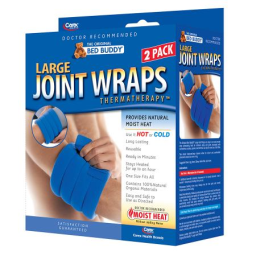 Bed Buddy Hot/Cold Therapy Joint Wraps Large - 2.0 ea