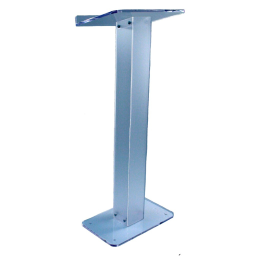 Amplivox Lite Acrylic Lectern  Frosted Acrylic