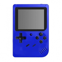 Retro Game Box with 400 Built-In Games / Blue