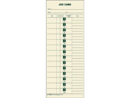 TOPS Time Cards for Time Clocks, 500/Box (1258)