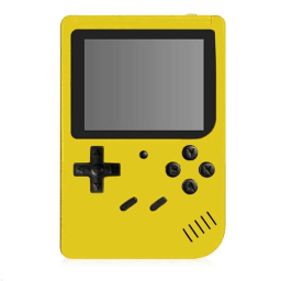 Retro Game Box with 400 Built-In Games / Yellow