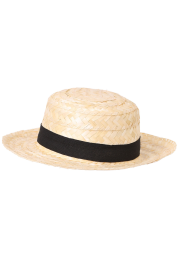 Straw Skimmer Hat for Adults