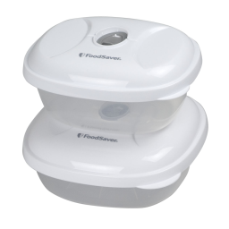 FoodSaver® Sandwich & Snack Containers 2pk by Foodsaver