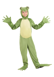 Deluxe Frog Costume for Kids