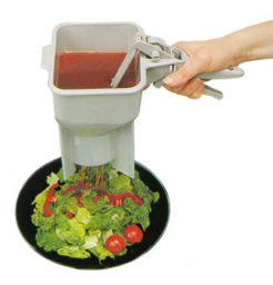 The Sauce Boss Portion Control Dispenser from Vollrath - 2800-31