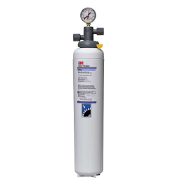 """(5616404) 3M Water Filtration Products Water Filter System With Shut-off Valve & Gauge 23-5/8""""H X 5""""D - ICE195-S"""