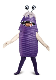 Toddler Monsters Inc Boo Deluxe Costume