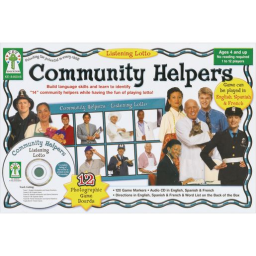 Listening Lotto Game - Community Helpers