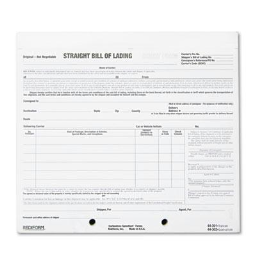 """Rediform 7"""" x 8-1/2"""" 4-Part Snap-A-Way Bill of Lading  250-Short Forms"""