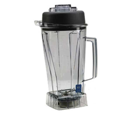 Vitamix Complete Standard Blender Container 64 Oz. (2 Liter) Capacity Clear BPA Free Tritan Container With Wet Blade Assembly & Lid - 1195