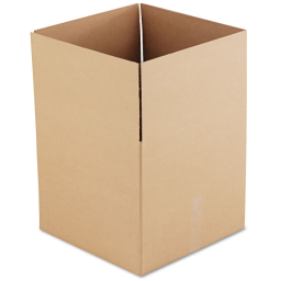 """General Supply 18"""" x 18"""" x 16"""" Corrugated Shipping Boxes  Brown  Pack of 15"""