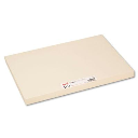 """Pacon 18"""" x 12"""" 100-Pack Manila Heavyweight Tagboards"""