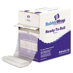 """Sealed Air 1/2"""" Thick 12"""" x 65 ft. Bubble Wrap Cushion Bubble Roll"""