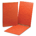 """Smead 3"""" Capacity 11"""" x 17"""" Prong Fastener Top Opening Pressboard Report Cover  Red"""