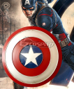 Avengers: Age of Ultron Captain America Steve Rogers Shield Cosplay Prop