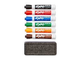 EXPO Dry Erase Organizer Kit, Assorted Colors (80556)