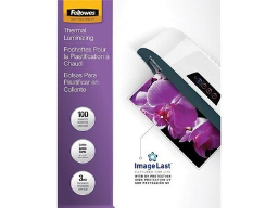 Fellowes ImageLast Thermal Pouches, Letter, 100/Pack (52454)