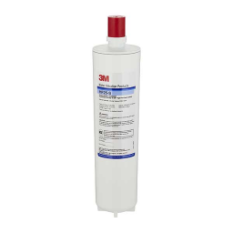 (5615203) 3M Water Filtration Products Replacement Cartridge Standard Length 1 Micron - HF25-S